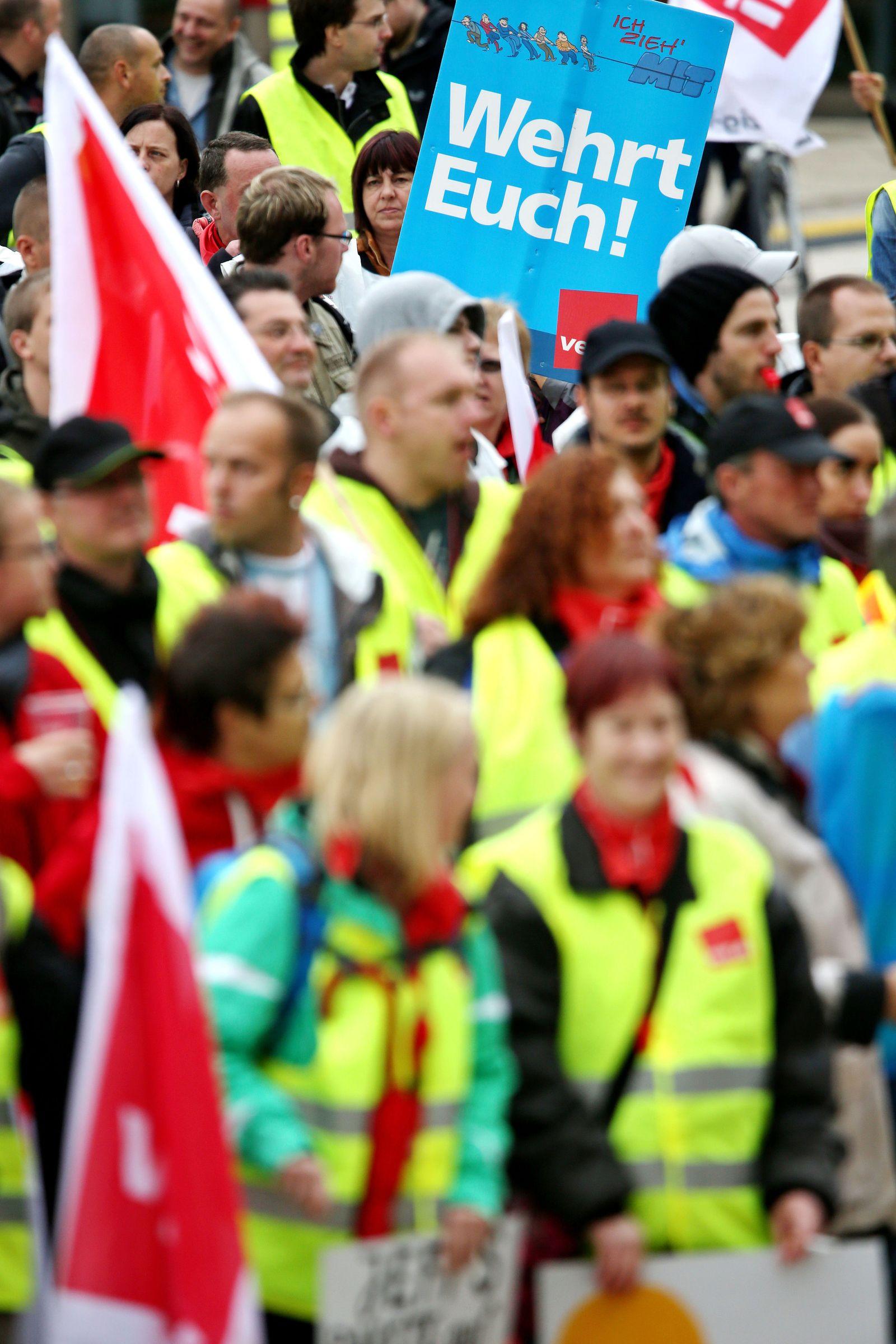 Streik bei Amazon in Leipzig