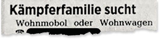 Aus der Tageszeitung »Die Harke«