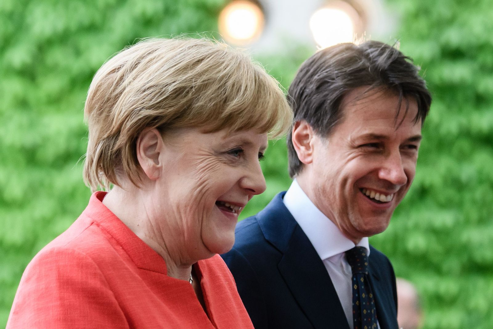 Prime Minister of Italy Giuseppe Conte visits Berlin, Germany - 18 Jun 2018