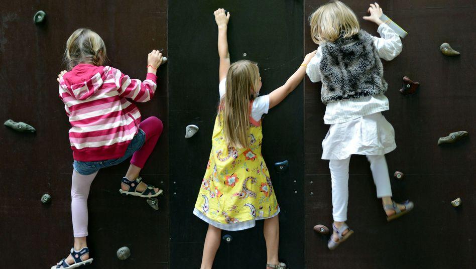 Kita-Kletterer: Frühkindlicher Erziehung funktioniert in Deutschland gut, sozialer Aufstieg nicht