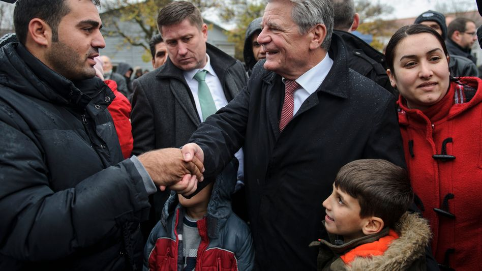 """Bundespräsident Gauck: """"Nicht am Ende unserer Möglichkeiten"""""""