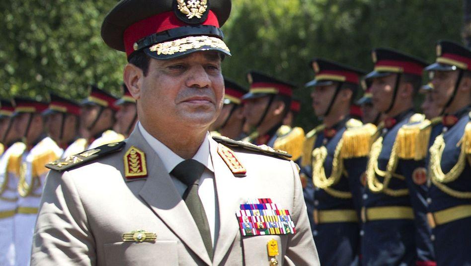 Ägyptens Armeechef: Sisi zeigt Obama die kalte Schulter