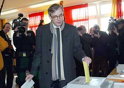 SPD-Spitzenkandidat Mirow: vertraut auf deutlichen Rückenwind