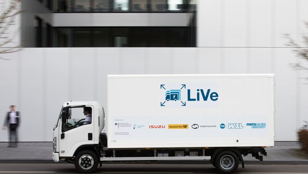 E-Lkw aus Aachen: Streetscooter in groß