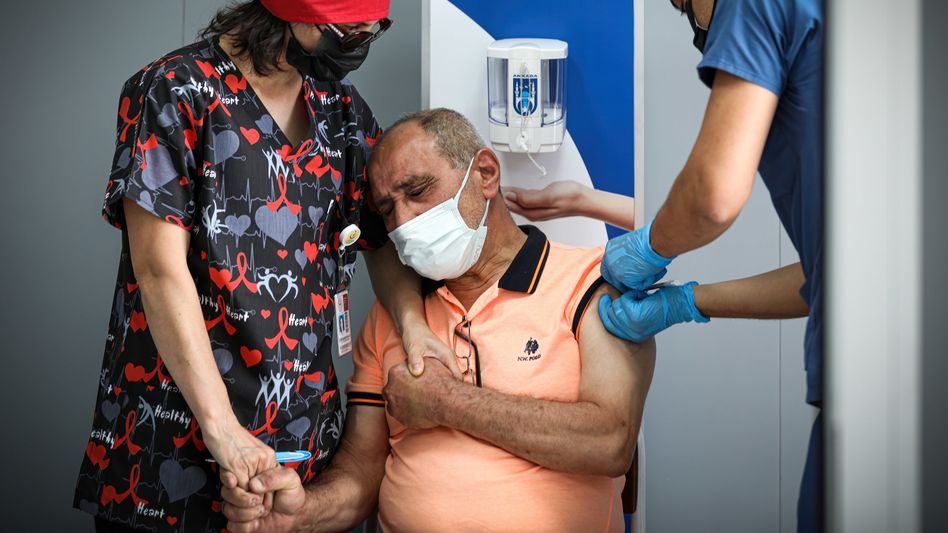 Corona-Impfung in Ankara