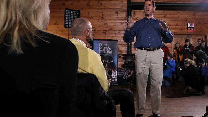 US-Vorwahlkampf: Santorums Mission