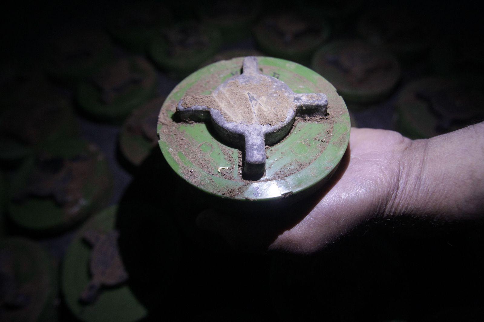 Mine / Syrien / Libanon /