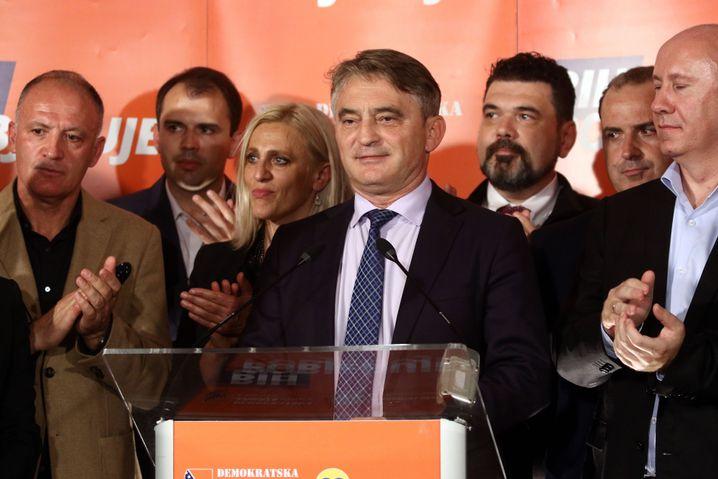 Sozialdemokrat Željko Komšic