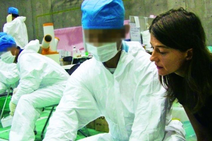 Sehen Sie hier: Meyer, Arbeiter in Fukushima