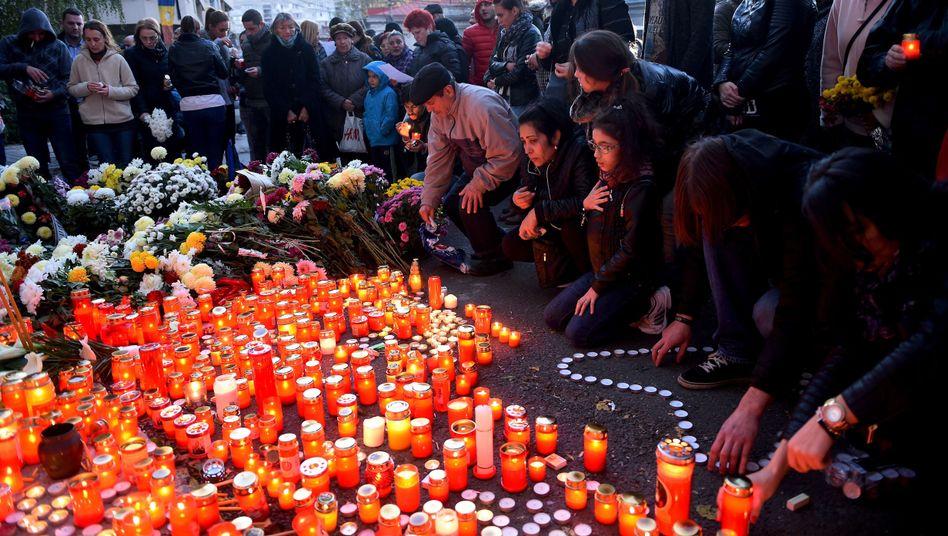 Trauer nach tödlichem Großbrand in Bukarester Nachtclub (Archiv)