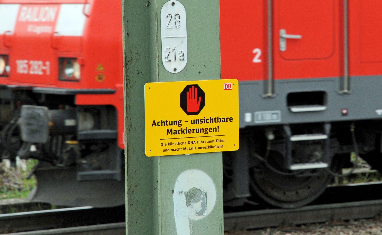 Bahn / Kabeldiebe