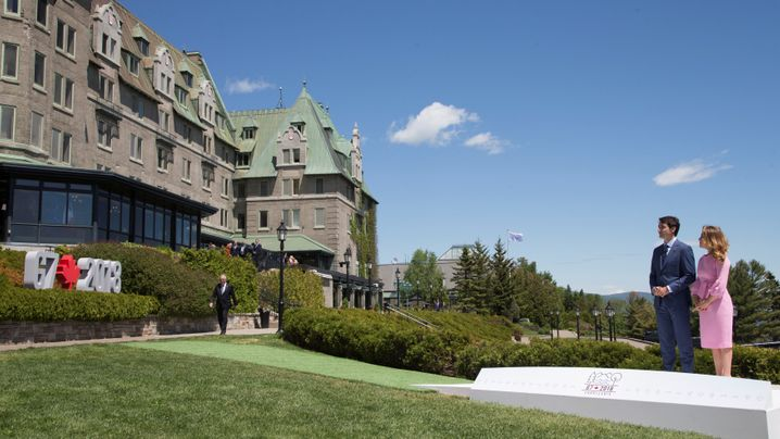 Bilder vom G7-Gipfel: Oh, wie schön ist Kanada