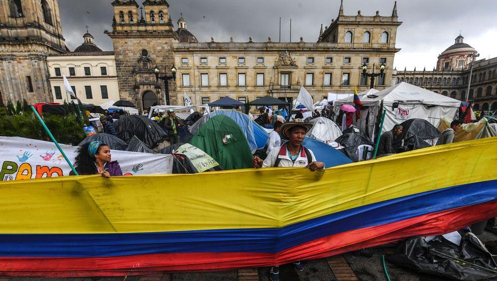 Kolumbien: Kolumbiens Konflikt mit den Farc-Rebellen