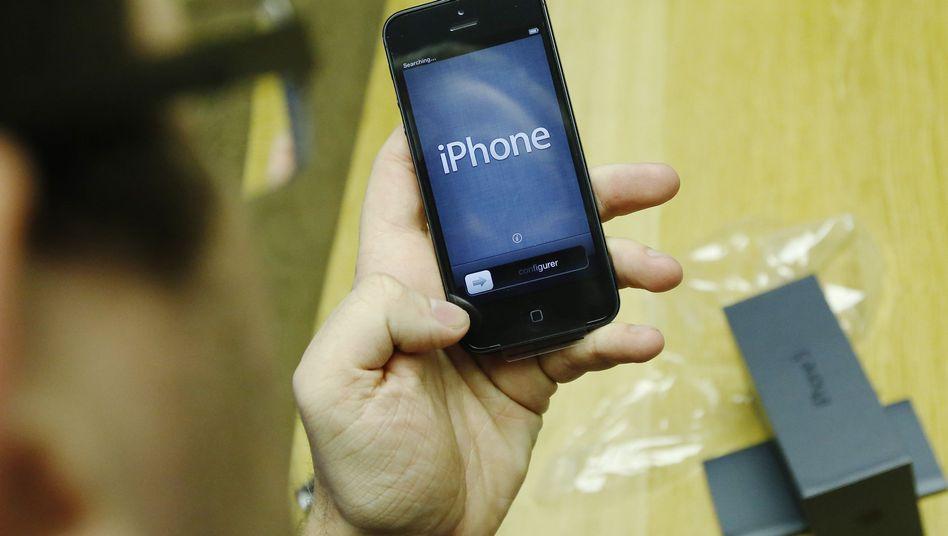 Neues iPhone 5: Besser gleich im Laden auf optische Mängel überprüfen