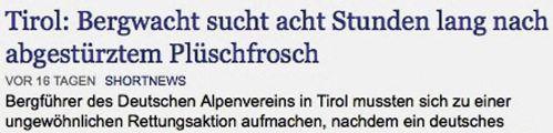 Von der Internetseite www.nachrichten.de
