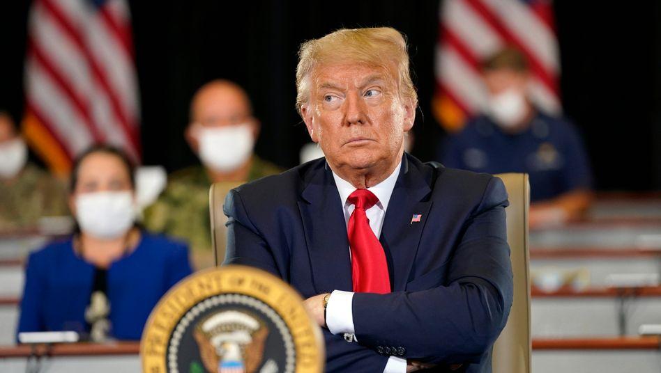 Sinkende Umfragewerte, steigende Corona-Infektionen: US-Präsident Trump steht unter Druck