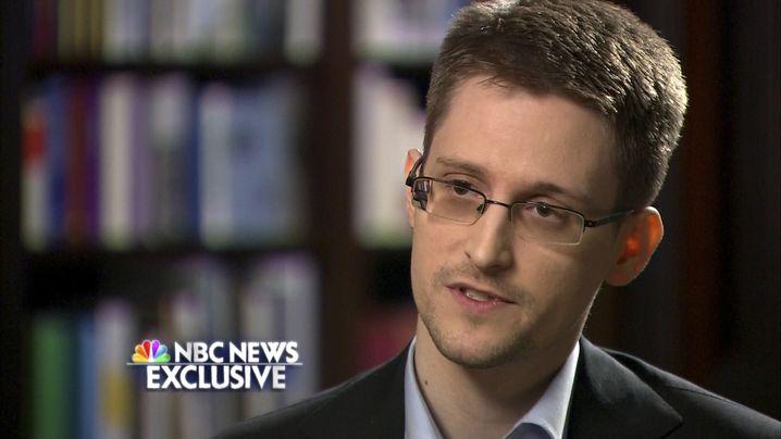 Erstes Interview im US-Fernsehen mit NBC
