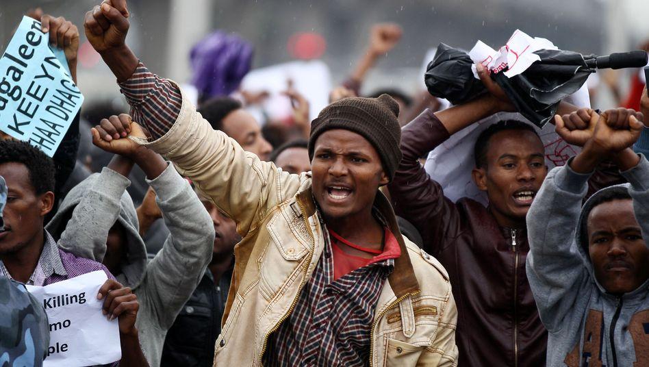 Proteste in Addis Abeba