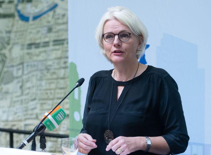 Die Berliner Verkehrssenatorin Regine Günther war zunächst als Parteilose für die Grünen in der Berliner Regierung - seit Sommer 2019 ist sie auch selbst Mitglied