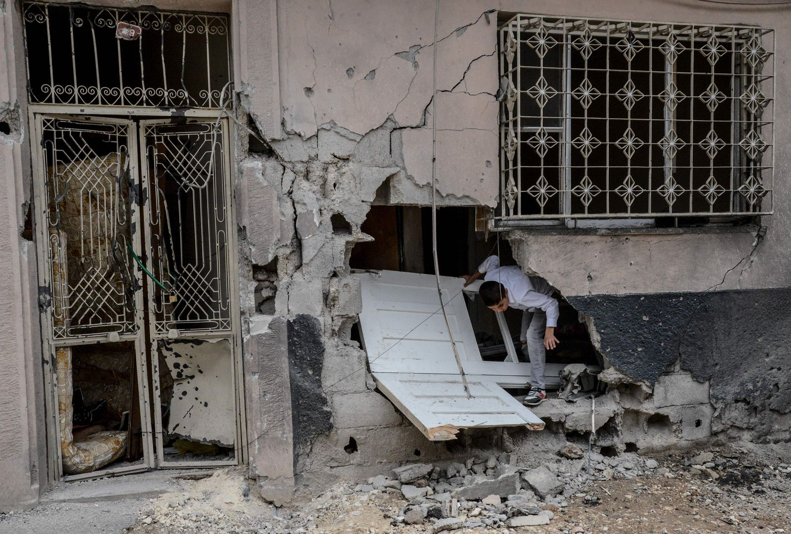 Türkei / Kilis / Syrer / Türkische Grenze