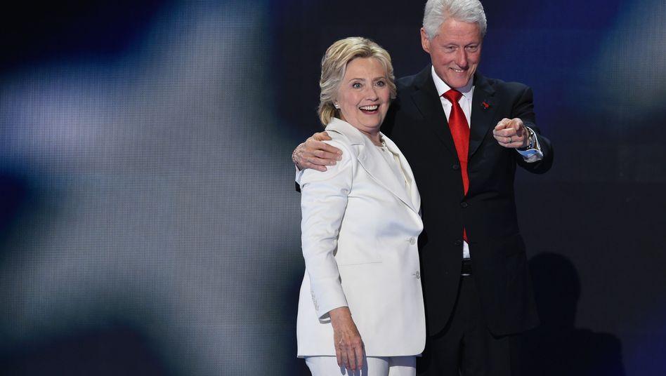 Das Ehepaar Clinton