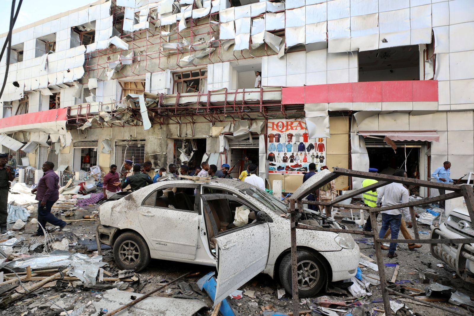 Mogadischu/ Autobombe
