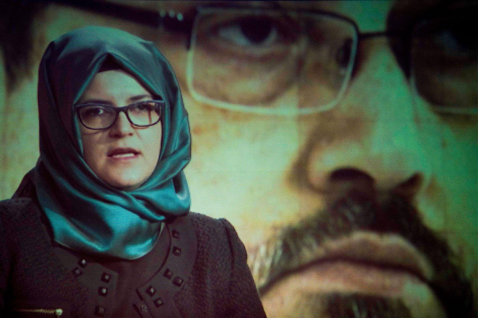 Memorial service for murdered Saudi journalist Jamal Khashoggi, including video address by his widow