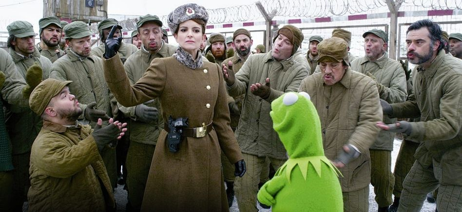 Fey, Kermit in »Muppets Most Wanted«