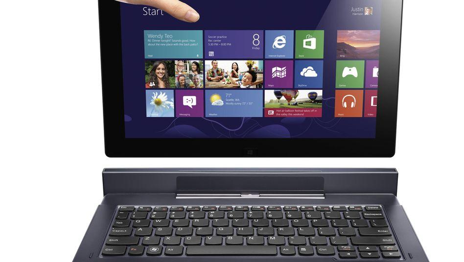 Lenovo-Computer (Symbolbild): Gefahr durch Werbeeinblendungen