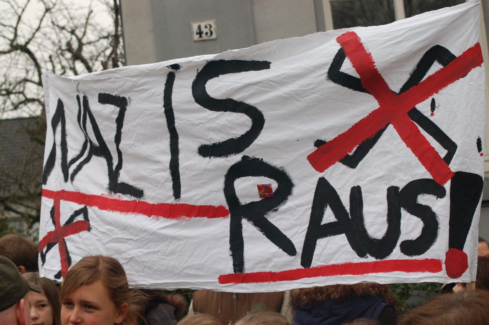Neonazi-Demo in Münster