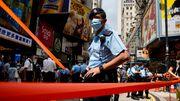 Polizei in Hongkong nimmt sechs Schüler und drei Erwachsene fest