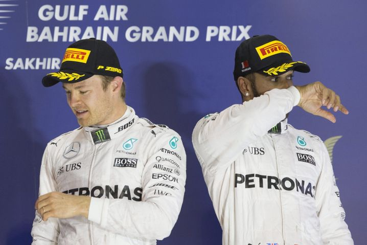 Nico Rosberg, Lewis Hamilton: Echte Freunde