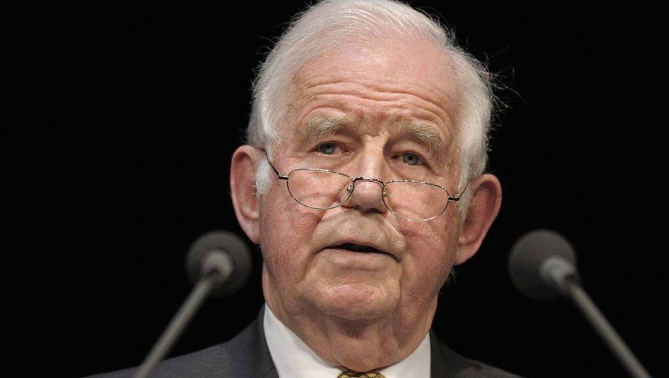 """Kurt Biedenkopf: """"Breite Zustimmung in der Bevölkerung zur Kandidatur Joachim Gaucks"""""""