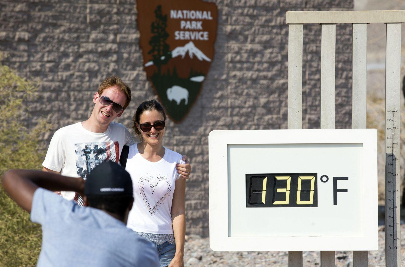 Death Valley / heißester Monat