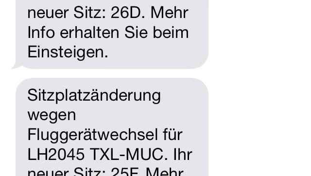 Annullierungs-SMS: Wo bitte geht's hier zum Kundendienst?