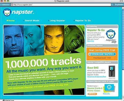 """Napster to go: """"Das DRM ist intakt"""""""