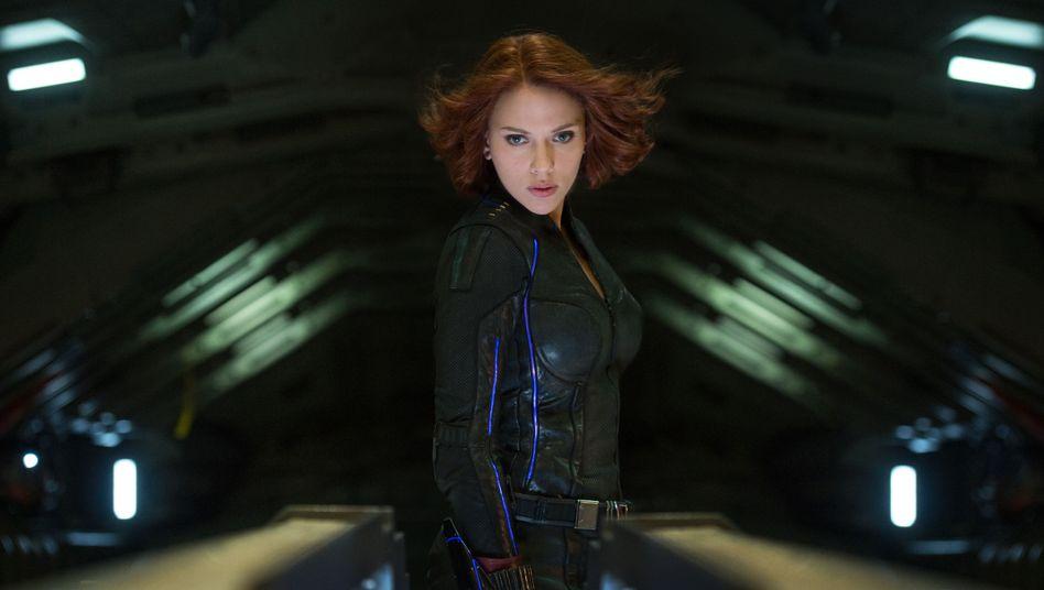 """Scarlett Johansson als Black Widow in """"Avengers: Age Of Ultron"""""""