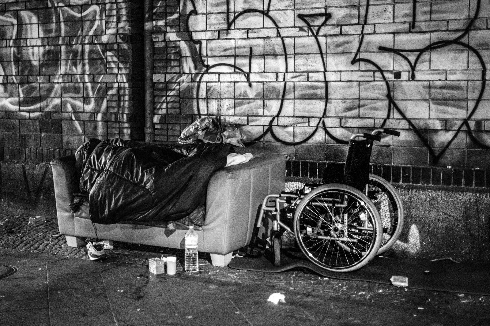 Obdachlosigkeit - Orte © Debora Ruppert -13