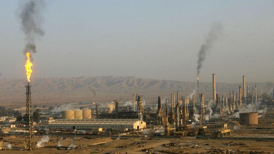 Isis-Offensive: Dschihadisten stürmenIraks größte Ölraffinerie