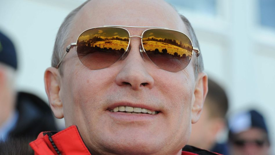 Wladimir Putin in Sotschi: Traut sich vielleicht humortechnisch keiner ran