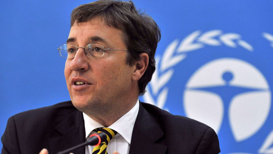 UN Environment Program head Achim Steiner says climate change policymaking is still in its infancy.