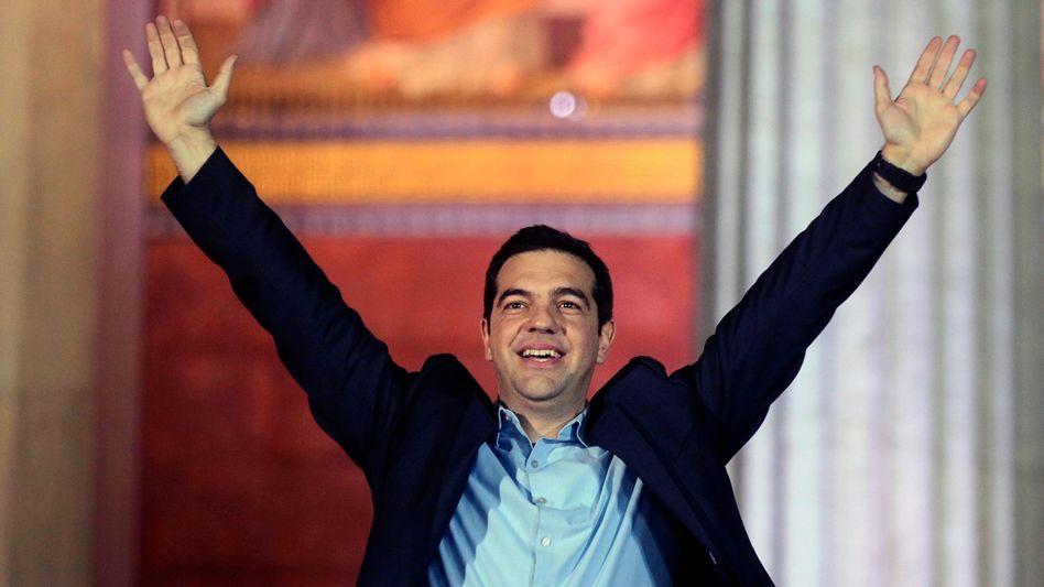 Wahlsieger Tsipras: Reinfantilisierung der griechischen Gesellschaft