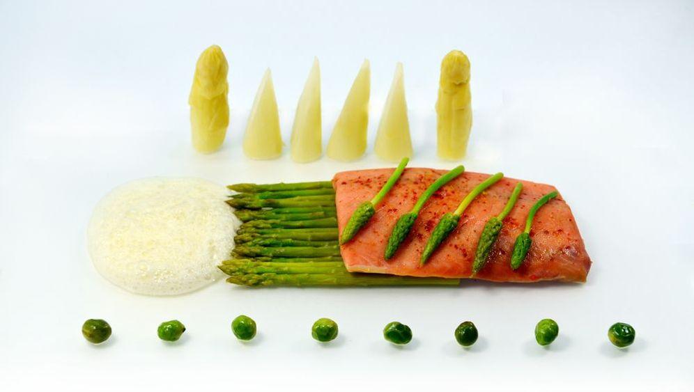 Zubereitung: Lachs mit Spargel