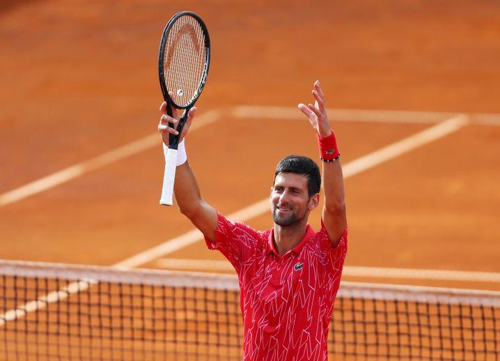 Novak Djokovic feierte in Zadar mit den Fans, als gäbe es kein Coronavirus