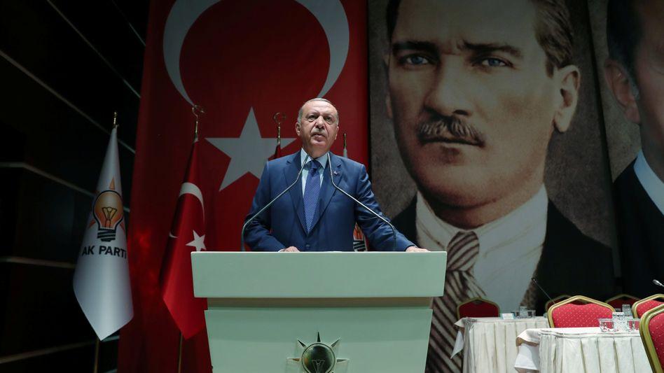 """Erdogan-Rede in Ankara: """"die Türen öffnen"""""""