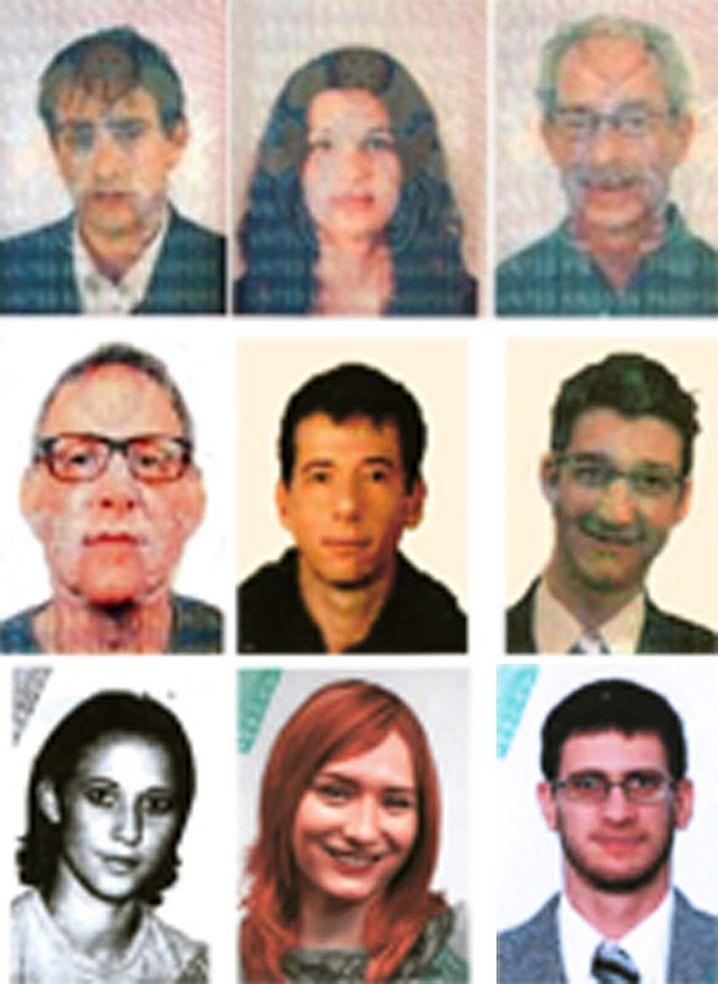 2010 fahndete die Polizei in Dubai nach diesen vermeintlichen Mossad-Agenten. Sie sollen ein Hamas-Mitglied in dem Wüstenstaat ermordet haben.
