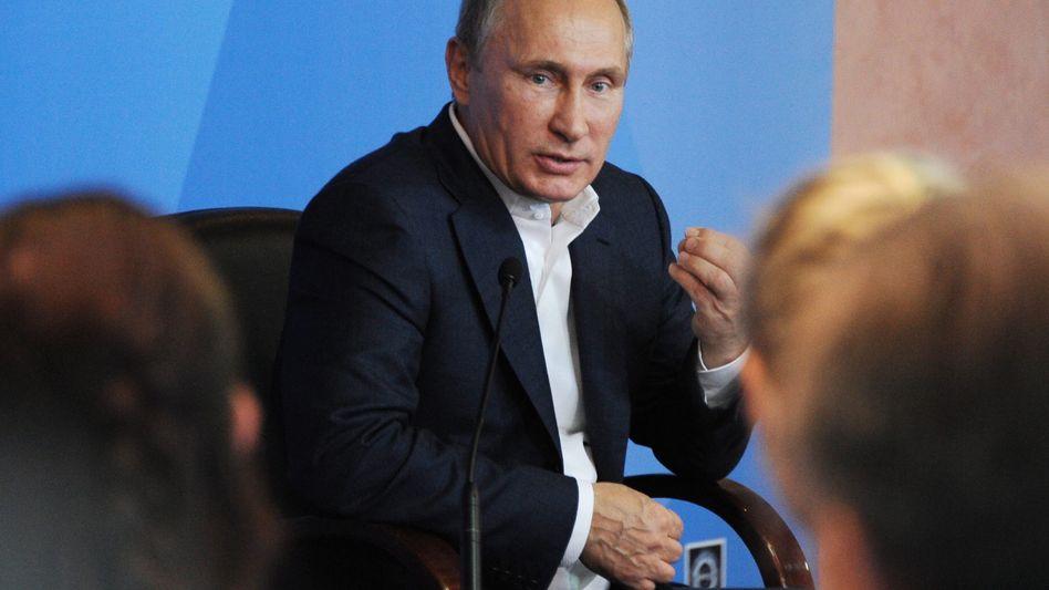"""Russlands Präsident Putin (Archiv): """"Gängige außenpolitische Methoden"""""""