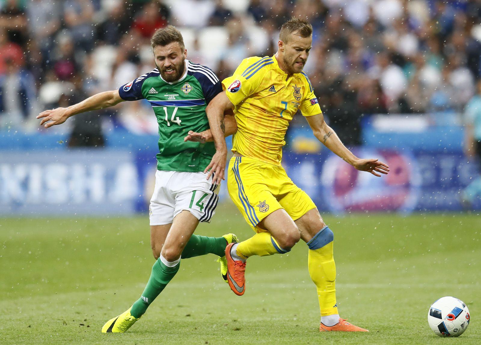 EURO 2016 / Lyon / Ukraine / Nordirland