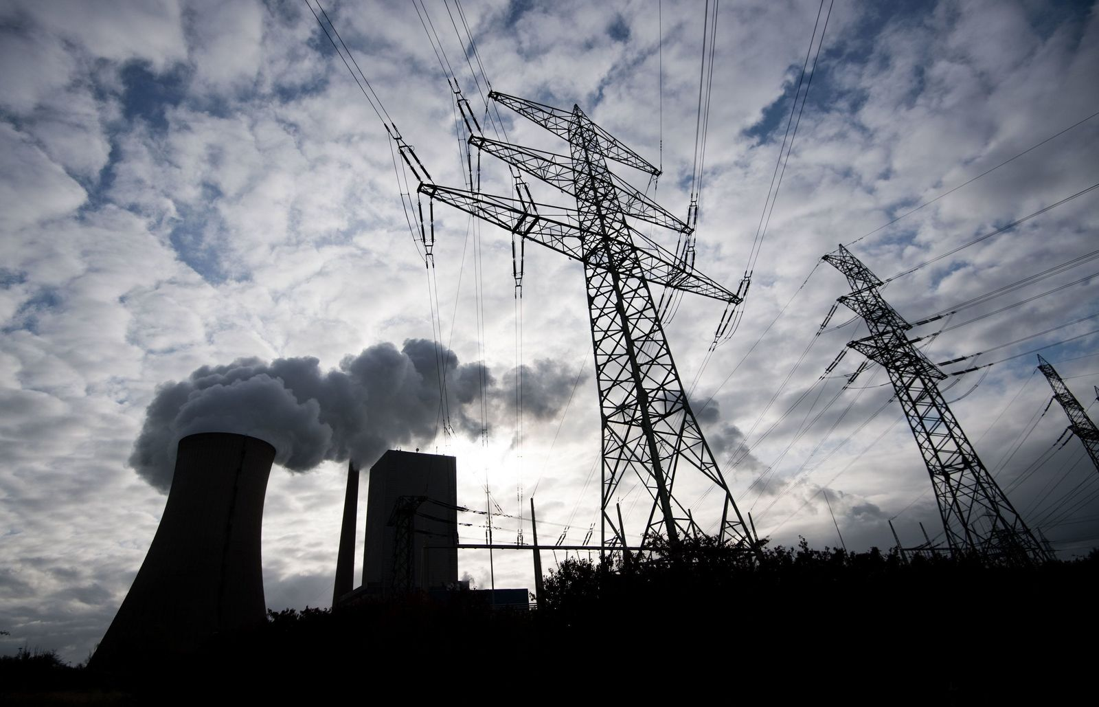 Kohlekraftwerk Klima