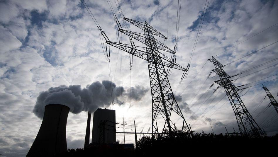 Kohlekraftwerk im niedersächsischen Hohenhameln
